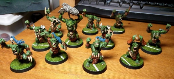 Blood Bowl Team The Green Fist Smackaz