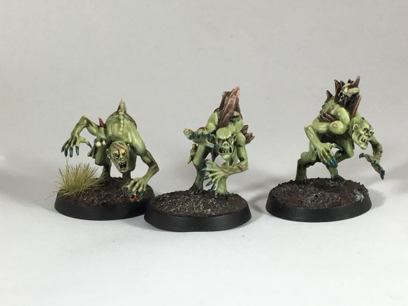 The start of my ghastly war band