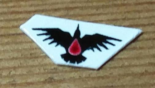 Blood Raven Decal