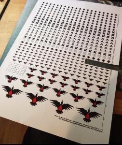 Blood Ravens Decals