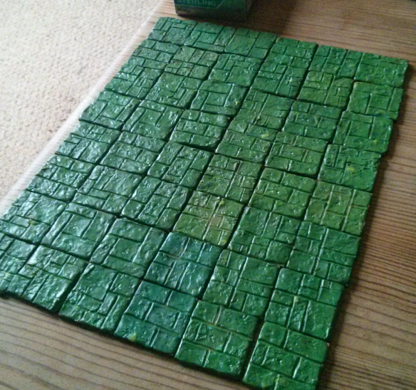 How to make dungeon tiles for D&D, Dungeon Saga, and
