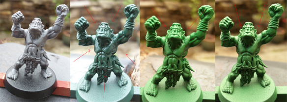 Zenithal Highlight using Army Painter Coloured Primers