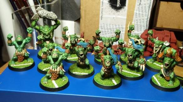 A team photo of the Green Fist Smackaz