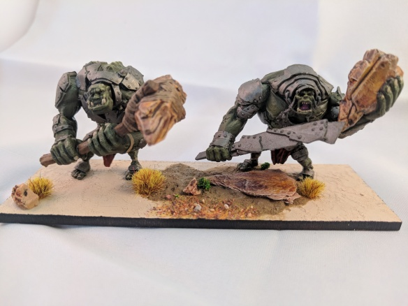 Kings of War Troll troop