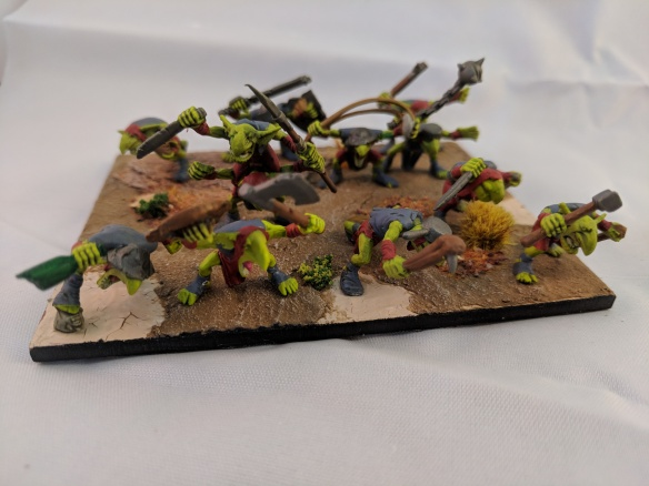 Kings of War Goblin regiment